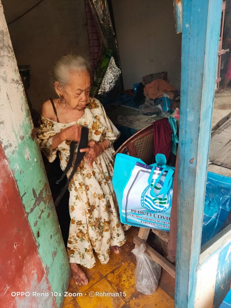 Perumda Air Minum Tirta Lestari Kabupaten Tuban Peduli COVID-19